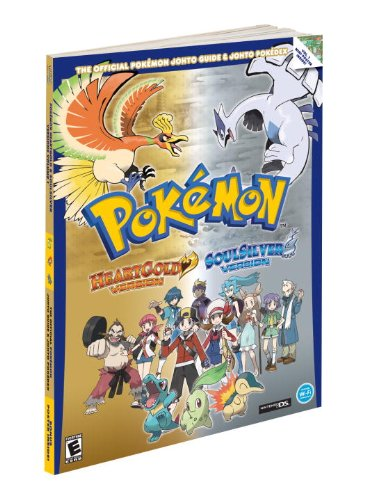 9780307468031: Pokemon HeartGold & SoulSilver: The Official Pokemon Johto Guide & Johto Pokedex: Official Strategy Guide (Prima Official Game Guides: Pokémon)