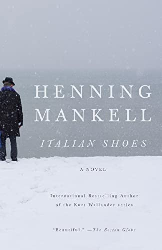 Italian Shoes 9780307472243 From the bestselling author of the Kurt Wallander series comes a touching and intimate story about an embattled man's unexpected chance at redemption.     Many years ago a devastating mistake drove Fredrik Welkin into a life as far as possible from his former position as a surgeon, where he mistakenly amputated the wrong arm of one of his patients. Now he lives in a frozen landscape. Each morning he dips his body into the freezing lake surrounding his home to remind himself he's alive. However, Welkins's icy existence begins to thaw when he receives a visit from a guest who helps him embark on a journey to acceptance and understanding. Full of the graceful prose and deft characterization that have been the hallmarks of Mankell's prose, Italian Shoes shows a modern master at the height of his powers, effortlessly delivering a remarkable novel about the most rewarding theme of all: hope.