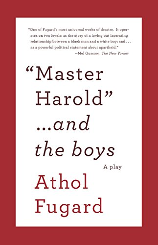 9780307475206: Master Harold and the Boys: A Play (Vintage International)