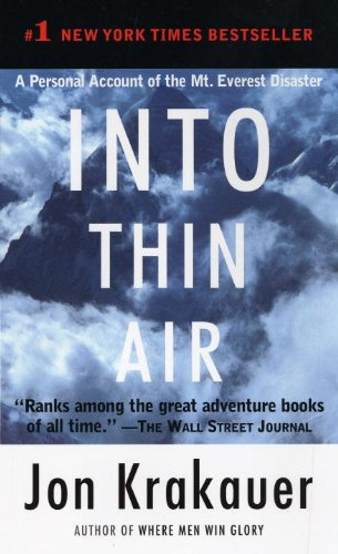 9780307475251: Into Thin Air: A Personal Account of the Mt. Everest Disaster