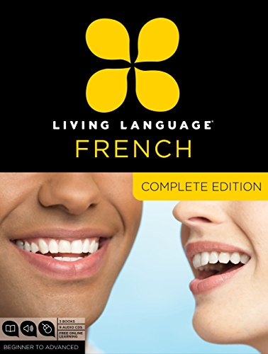 9780307478436: Living Language French, Complete Edition: Beginner through advanced course, including 3 coursebooks, 9 audio CDs, and free online learning