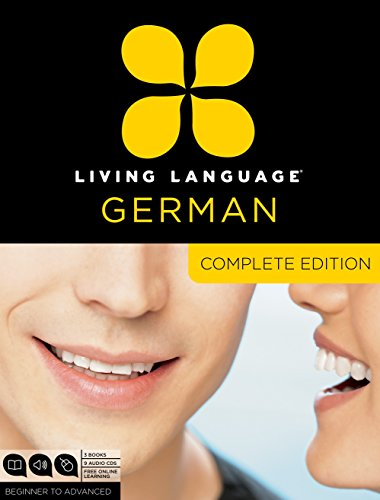 9780307478559: Living Language German, Complete Edition: Beginner through advanced course, including 3 coursebooks, 9 audio CDs, and free online learning