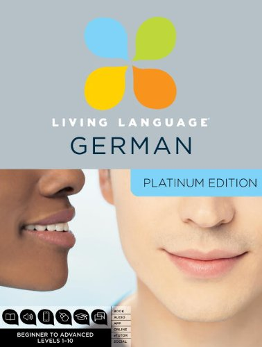 9780307479105: Living Language German, Platinum Edition: Beginner to Advanced Levels 1-10 [With 3 Paperbacks]