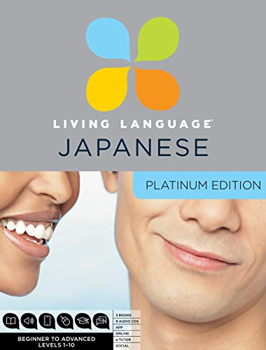 9780307479150: Living Language Japanese, Platinum Edition: A Complete Beginner Through Advanced Course, Including 3 Coursebooks, 9 Audio CDs, Japanese Reading & Writ