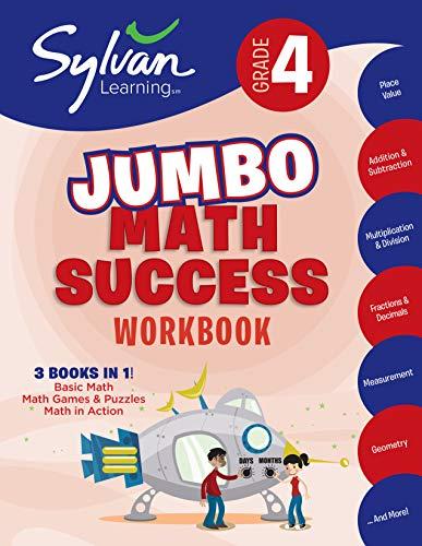 4th Grade Super Math Success (Sylvan Learning Math Workbooks): Kraft, Amy