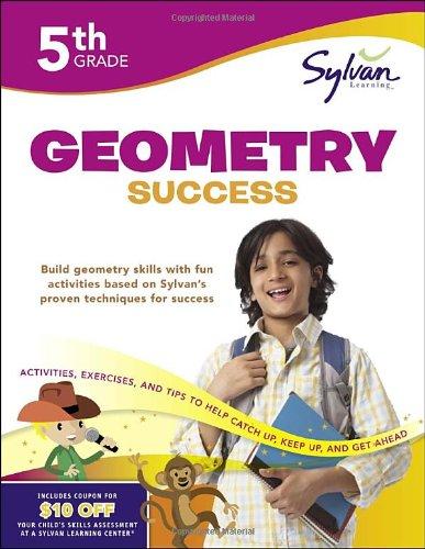 9780307479303: Fifth Grade Geometry Success (Sylvan Workbooks) (Math Workbooks)