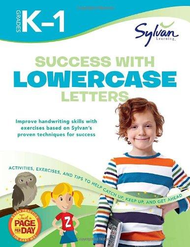 9780307479358: Success with Lowercase Letters: Grades K-1 (Sylvan Workbooks) (Language Arts Workbooks)