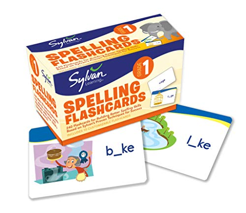 9780307479389: First Grade Spelling Flashcards (Flashcards Language Arts)