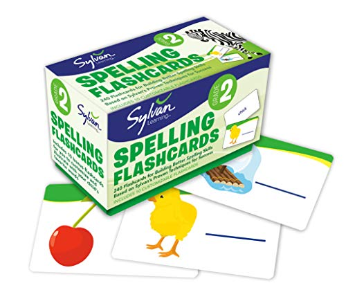 9780307479396: Second Grade Spelling Flashcards (Flashcards Language Arts)