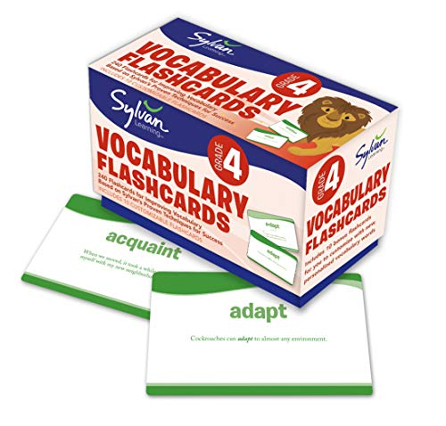9780307479419: Fourth Grade Vocabulary Flashcards (Flashcards Language Arts)