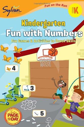 9780307479464: Kindergarten Fun with Numbers (Sylvan Fun on the Run Series) (Fun on the Run Math)