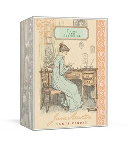 9780307587428: Jane Austen Note Cards. Pride And Prejudice