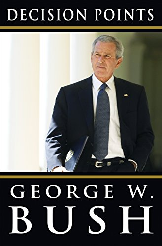 Decision Points Hardcover Signed George Bush