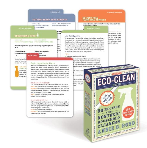 9780307591616: Eco-Clean Deck: 50 Recipes for Non-Toxic Household Cleaners