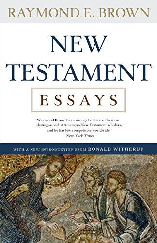 New Testament Essays: Brown, Raymond E.