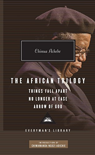 "The African Trilogy. "" THINGS FALL APART: Achebe, Chinua. {"