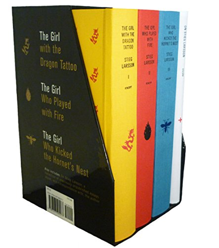 9780307595577: Stieg Larsson's Millennium Trilogy Deluxe Boxed Set: The Girl with the Dragon Tattoo, The Girl Who Played with Fire, The Girl Who Kicked the Hornet's Nest, Plus On Stieg Larsson