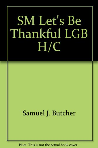 9780307598431: SM Let's Be Thankful LGB H/C (Little Golden Book)