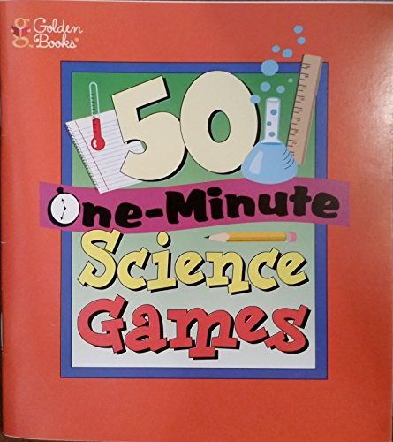 9780307599001: 50 One Minute Science Games