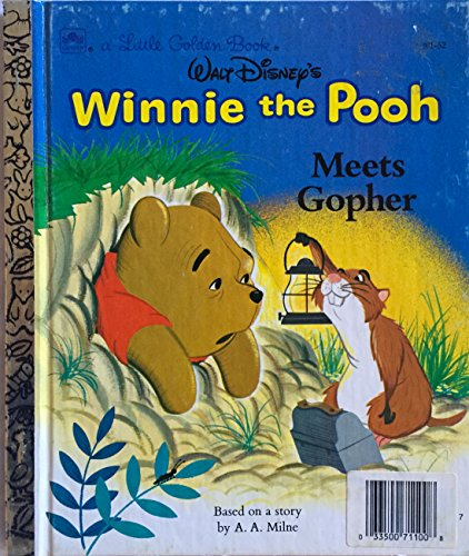 9780307600172: Winnie the Pooh Meets Gopher