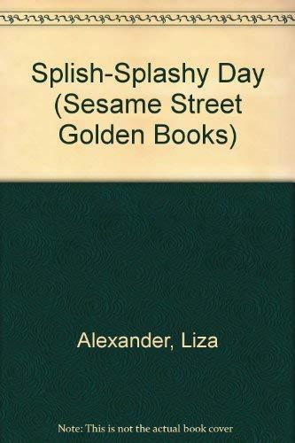 9780307600646: Splish-Splashy Day (Sesame Street Golden Books)