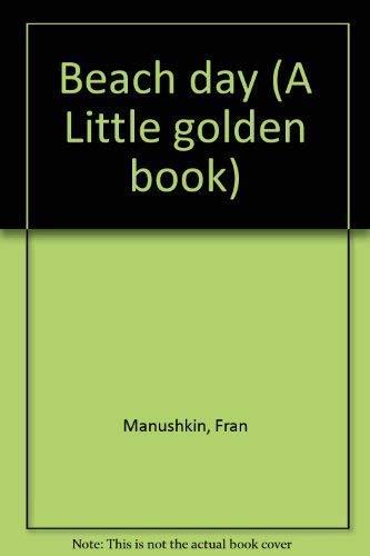 9780307601537: Beach day (A Little golden book)