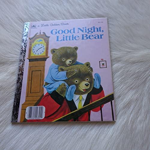 9780307602121: Good Night Little Bear (Little Golden Book)
