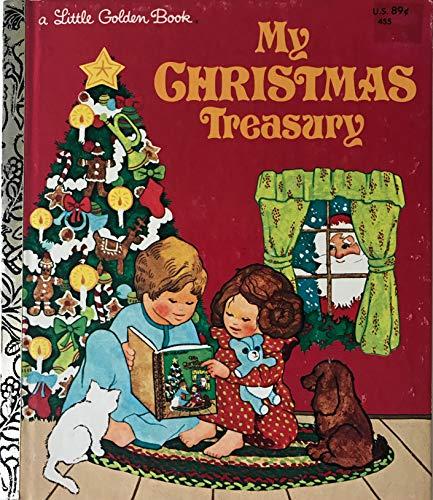 My Christmas Treasury (Little Golden Readers): Kathryn Jackson, Christina