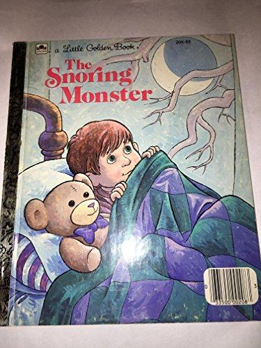 9780307602442: The Snoring Monster (Little Golden Readers)
