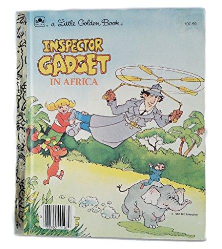 9780307602527: Inspector Gadget in Africa (Little Golden Book)