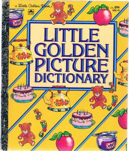 9780307602558: Little Golden Picture Dictionary (Little Golden Book)