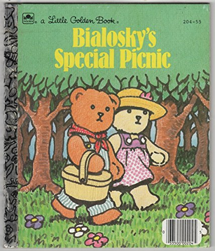 9780307602909: Bialosky's special picnic (A Little golden book)
