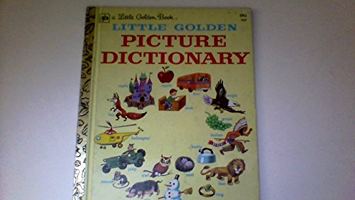Little golden picture dictionary: Hulick, Nancy Fielding