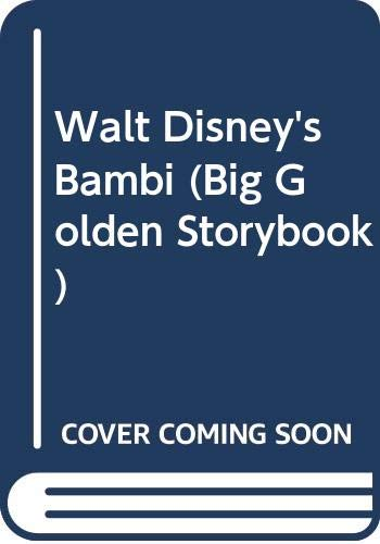 9780307603807: Walt Disney's Bambi (Big Golden Storybook)