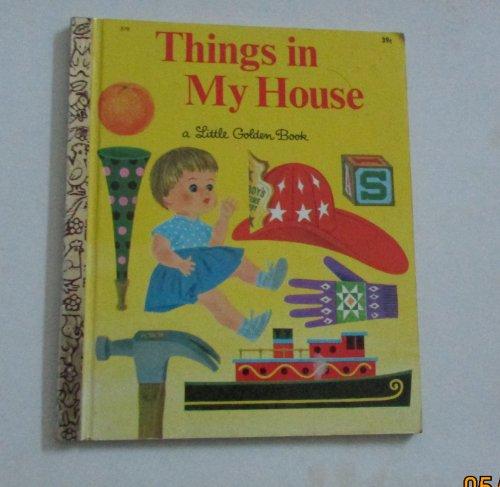 Things in My House (Little Golden Readers): Kaufman, Joe