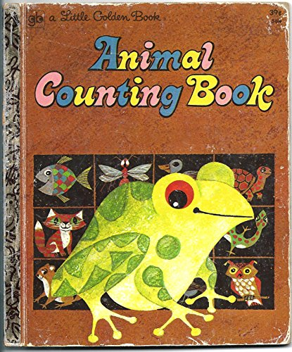9780307605849: Animal Counting Book (A Little Golden Book)