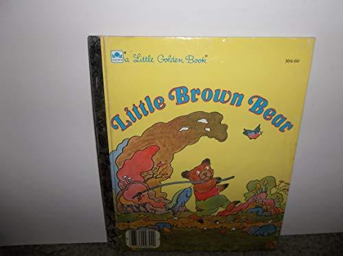 9780307606327: Little Brown Bear (Little Golden Reader Special Editions)