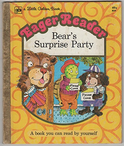 Bear's Surprise Party: Joan Chase Bowden