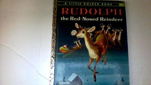 Rudolph the Red-nosed Reindeer (A Little Golden: Barbara Shook Hazen
