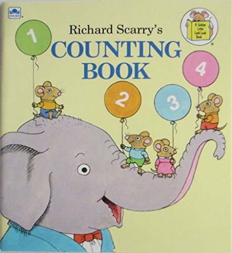 9780307616593: Richard Scarrys Counting Book