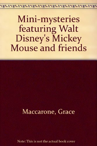 9780307617194: Mini-mysteries featuring Walt Disney's Mickey Mouse and friends