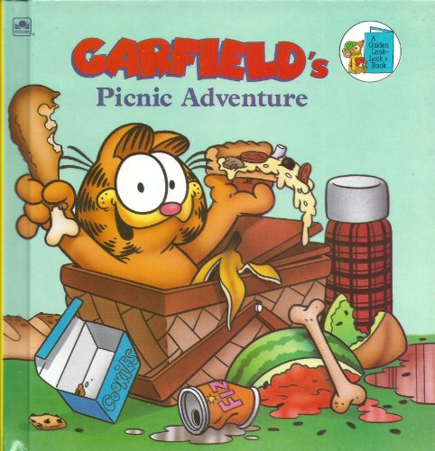 9780307617385: Garfield's Picnic Adventure (Golden Look-Look)