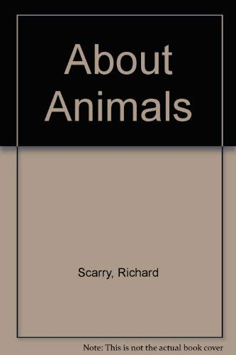 9780307618221: About Animals