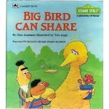 Big Bird Can Share: Dina Anastasio