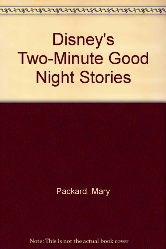 9780307621818: Disney's Two-Minute Good Night Stories
