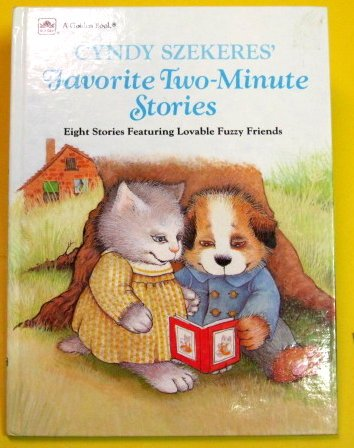 9780307621870: Cyndy Szekeres' Favorite Two-Minute Stories: Eight Stories Featuring Lovable Fuzzy Friends (Golden Book Two-Minute Stories, Basic Concepts)
