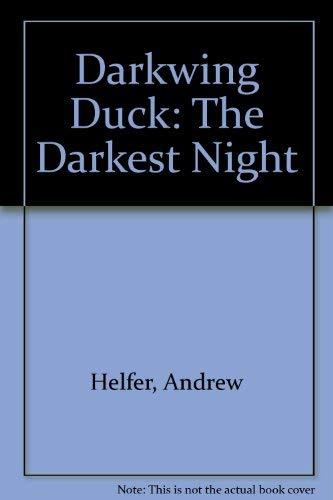 9780307626639: Darkwing Duck: The Darkest Night