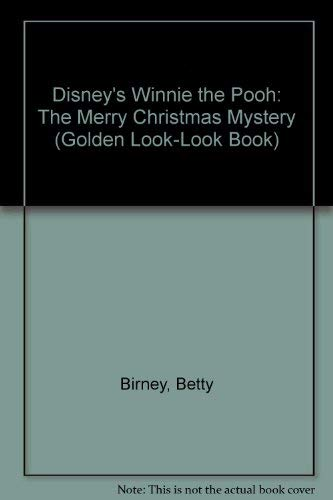 disneys winnie the pooh the merry christmas mystery golden look look book - Christmas Mystery Books