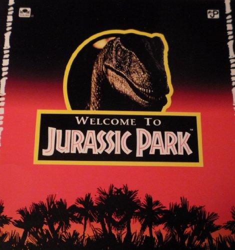 Welcome to Jurassic Park (Golden Look-Look Book): Michael Teitelbaum, David Koepp, Michael Crichton