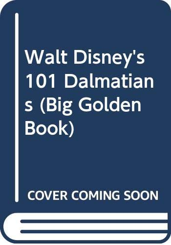 9780307628190: Walt Disney's 101 Dalmatians (Big Golden Book)